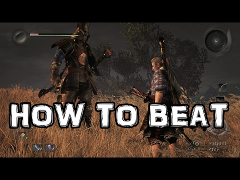 Nioh: How to Beat Tachibana Muneshige BOSS
