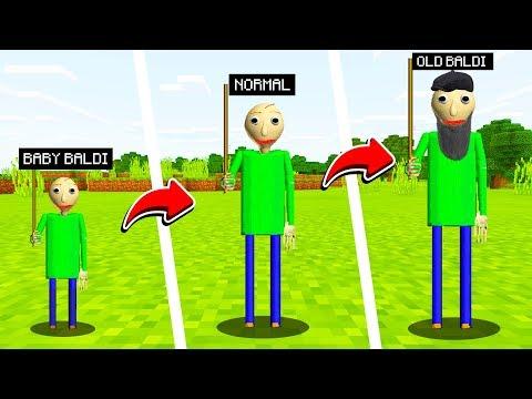 LIFE OF BALDIS BASICS IN MINECRAFT(Ps3/Xbox360/PS4/XboxOne/PE/MCPE)