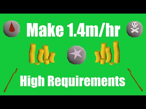 [OSRS] Make 1.4M/hr with High Requirements - Oldschool Runescape Money Making Method!