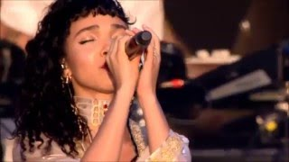 FKA twigs - Pendulum & Water me - Live at Glastonbury 2015