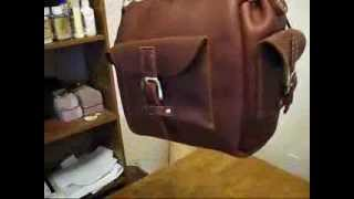 Making A Leather Utility Bag
