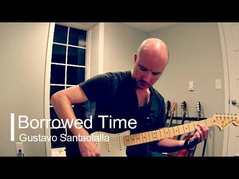 Borrowed Time (short): Gustavo Santaolalla guitar theme + TAB