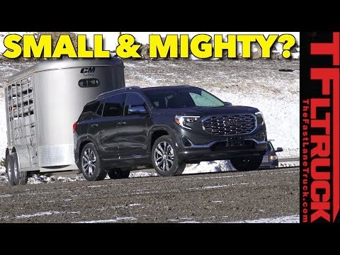 Can the 2018 GMC Terrain Denali Take on the World's Toughest Towing Test?