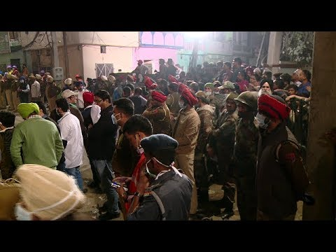 Live:-Ludhiana collapsed plastic factory building rescue on