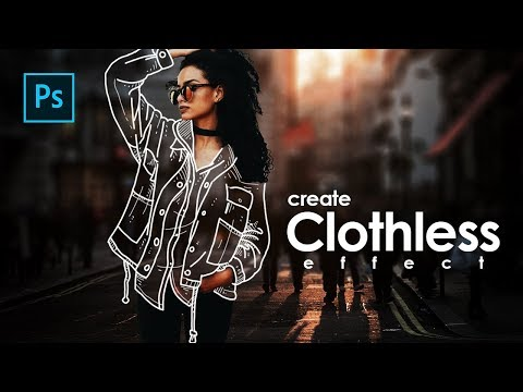 How To Create Clothless Effect / Invisible Jacket In Photoshop - Photoshop Tutorials