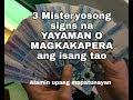 3 Signs na yayaman o magkakapera ang isang tao
