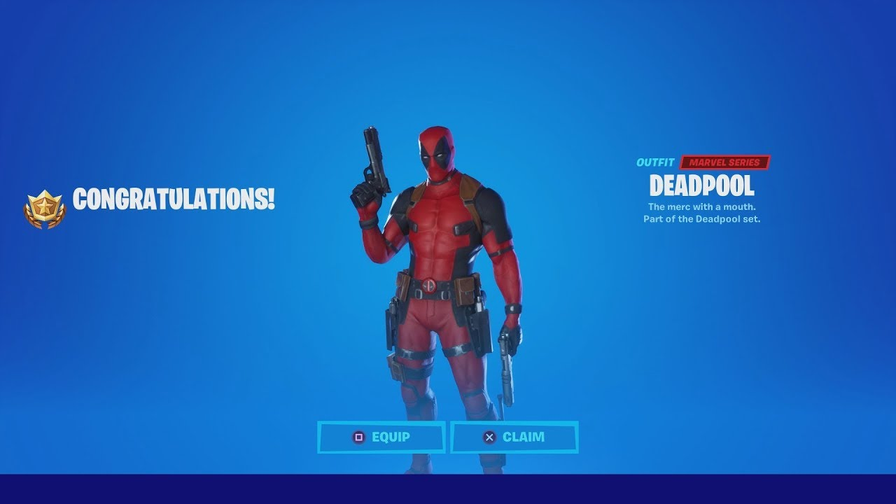 HOW TO ACTUALLY UNLOCK THE DEADPOOL SKIN IN FORTNITE (How ...