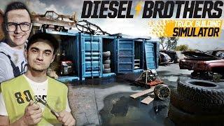 Warsztat Braci Pierdollins! ☠ Kupiłem Auto Na Złomie ✔ Diesel Brothers Simulator [#4]