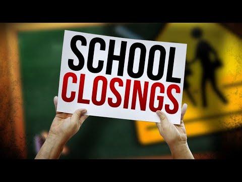 All West Virginia County School Systems Closed Tomorrow