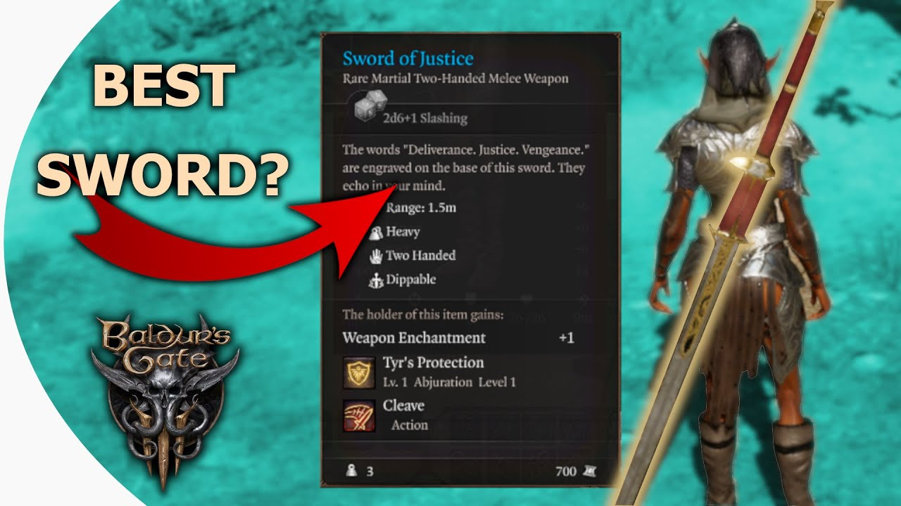 Download How to get The Sword of Justice in Baldur's Gate 3 Early Access