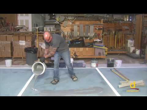 How to install fast cure MMA Resin based flooring system?