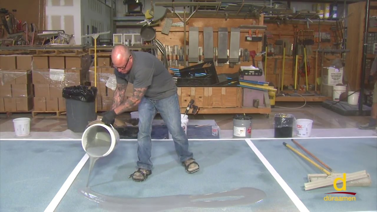 How To Install A Fast Cure MMA Resin Based Flooring System
