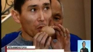 В Усть Каменогорске на выставке впервые представлены древние казахские национальные инструменты