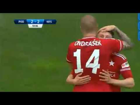 Podbeskidzie Bielsko-Biała - Wisła Kraków 3-4 all goals (bramki) 14.05.2016