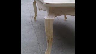 Изготовление полноценного фрезера .Обработка гнутой ножки для стола  1 часть
