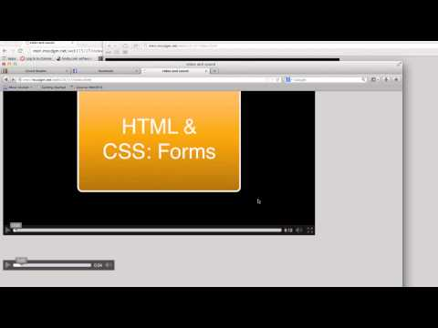 HTML & CSS - Sound And Video