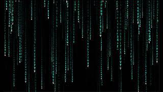 One Hour Matrix Rain Code (Cyan) | Digital Matrix Rain Screen Saver [FULL HD]