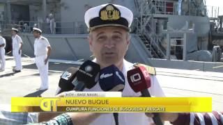 las noticias por el diez   arrib a mar del plata el buque baha agradable