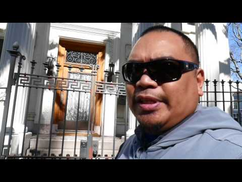 Eric B's Daily Vlogs #14 - Hidden Secrets Of San Francisco , Jefferson Airplane House.