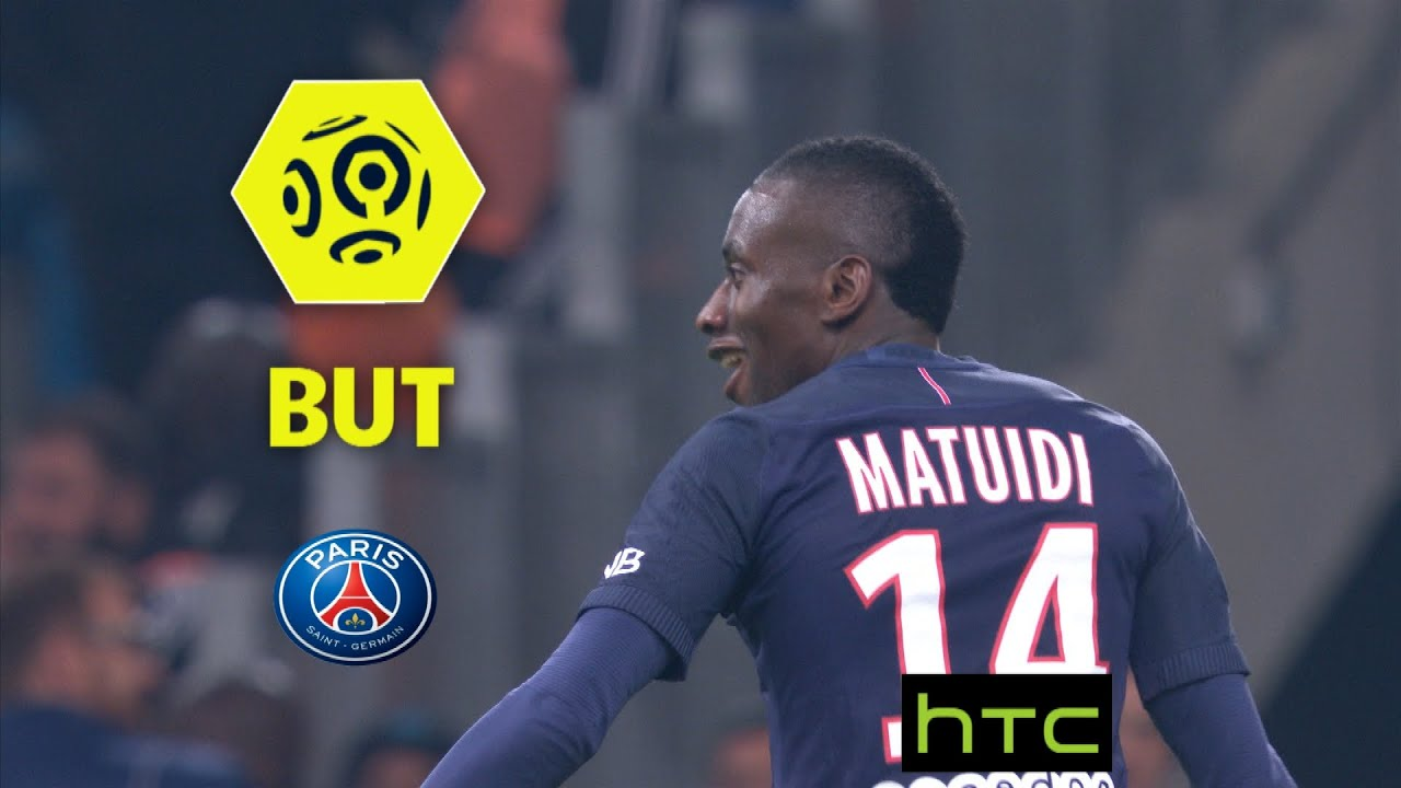 But Blaise MATUIDI 72 Olympique de Marseille Paris Saint
