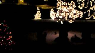 five finger death punch bad company christmas light show