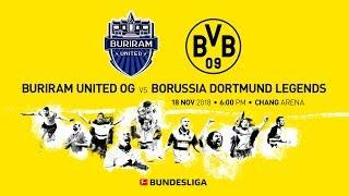 LIVE   Buriram United vs. BVB-Legenden   Ab 12 Uhr