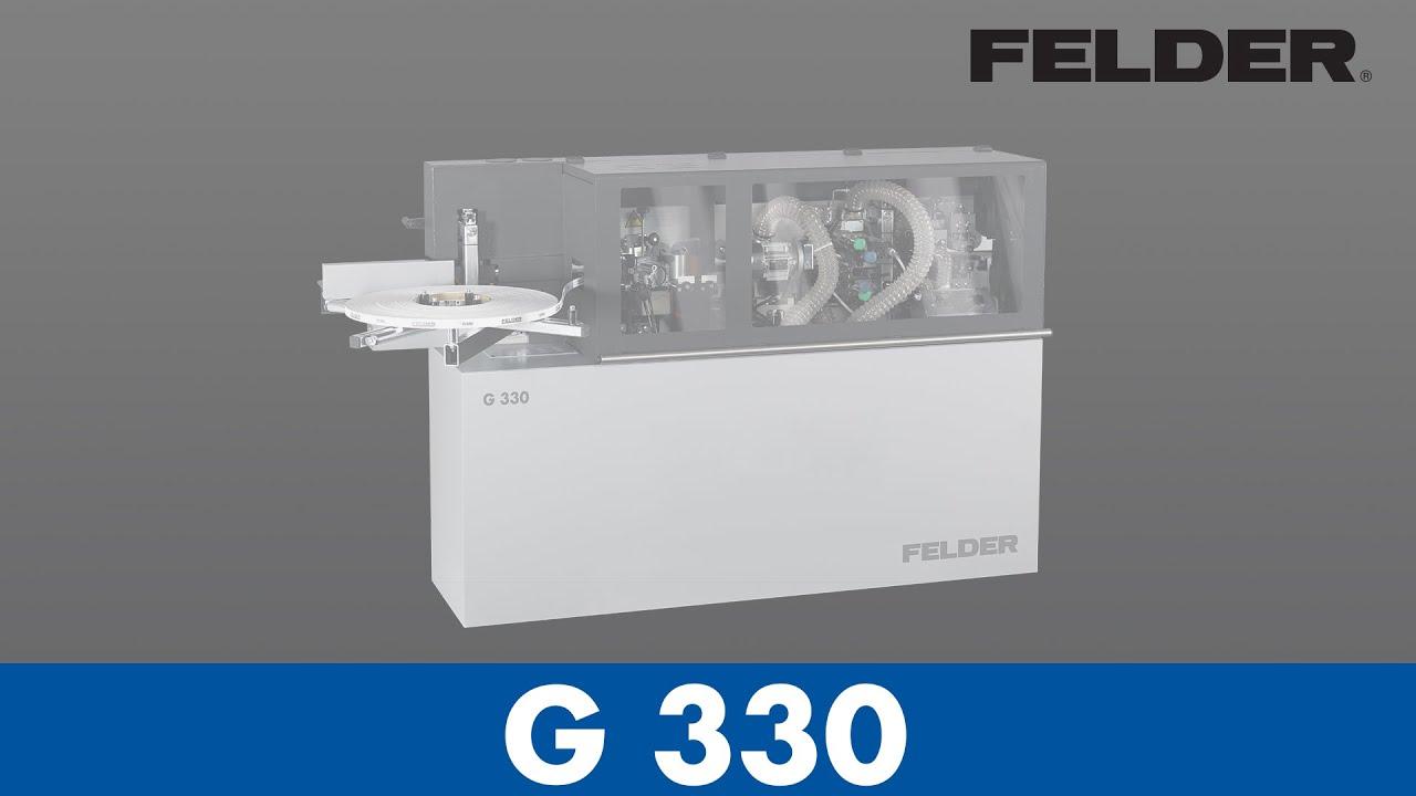 FELDER® G330 Compact Edgebander