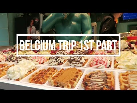 FOOD FEST IN BRUSSELS! | BELGIUM WEEKEND TRIP VLOG