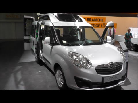 Opel Combo High Roof Combi 2015 In Detail Review