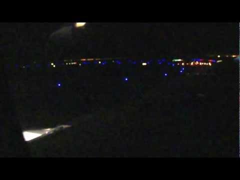 San Francisco-to-Philadelphia flight: takeoff, sunrise, Delaware River, downtown Phila. 2012-05-16