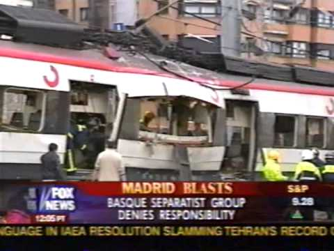 Studio B - Madrid Bombings (1 day later)