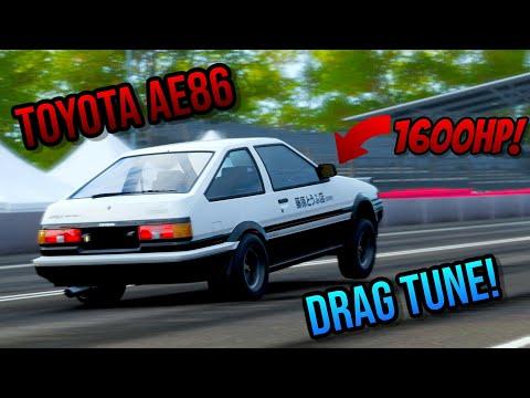 Forza Horizon 4 | 1600HP 1985 Toyota Sprinter Trueno GT Drag Tune