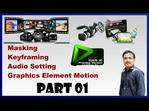 Advance Video Editing Course in Edius | Part 1 | By Anayat Creation Media Academy