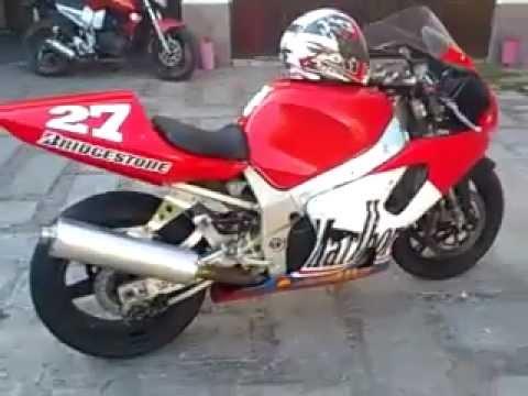 c2a80a85b8f Suzuki gsx-r 750 cc Motocicleta de Circuito(Mercado Libre) - YouTube