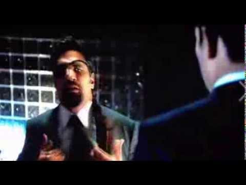 Manu Bennett watches himself on Arrow