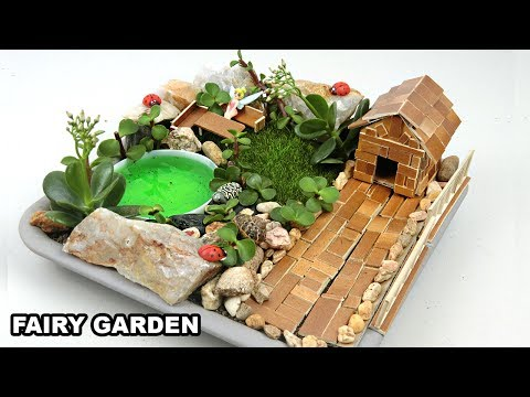 DIY Mini Fairy Garden #5 | Easy Crafts ideas