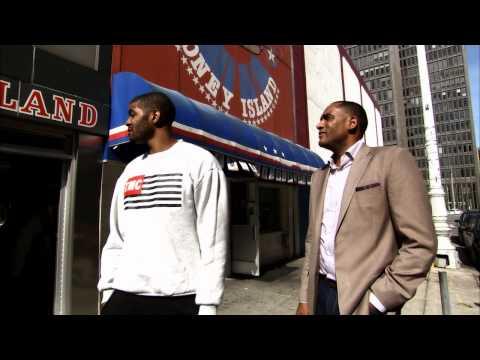 Josh Smith Hangs with NBA TV's Steve Smith in Detroit on NBA Inside Stuff