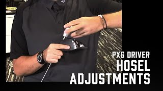 How to Adjust tнe PXG Driver Hosel