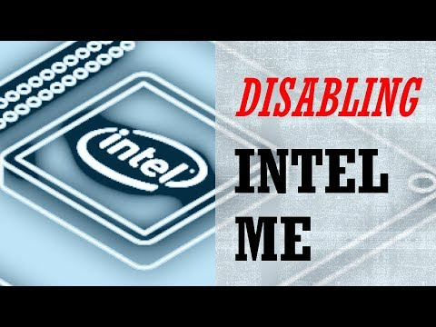 DIY: Disabling Intel ME 'Backdoor' on your Computer