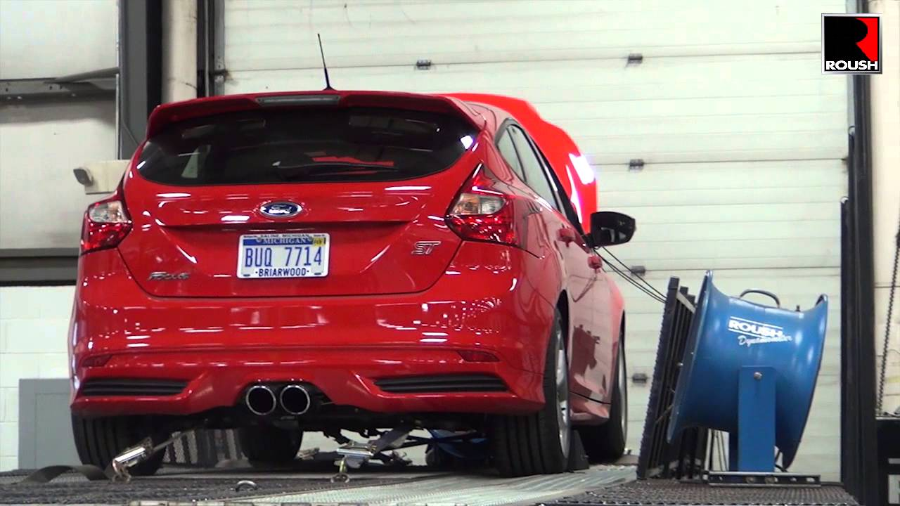roush performance ford focus st exhaust