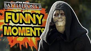 Star Wars Battlefront 2 Funny & Random Moments [FUNTAGE] #38