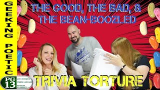 BEAN-BOOZLED!  ACTION HEROES: TRIVIA TORTURE!