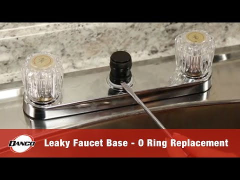 Danco How To Repairing A Leaky Faucet Base O Ring