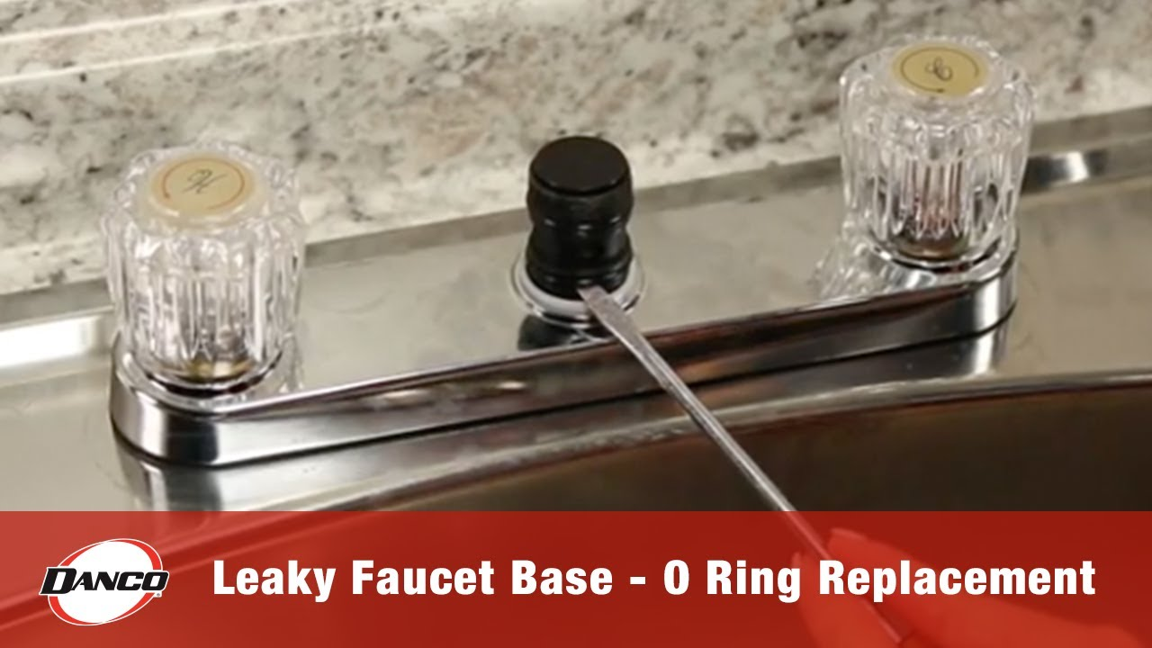 leaky faucet base o ring replacement