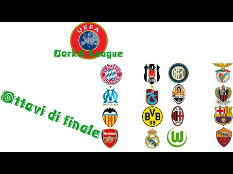 UEFA DarkX League:Ottavi di finale