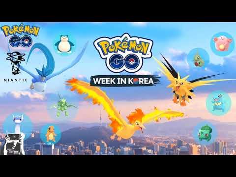 Pokémon GO Week In Korea Event
