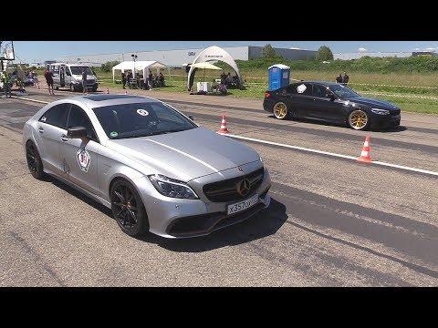 990HP Mercedes-Benz CLS63 AMG Vs 850HP BMW M5 F90