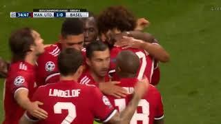 Manchester United vs Basel 3-0   Highlights  Goals  1292017