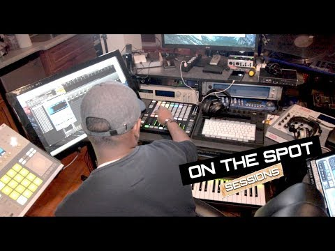 Love & Hip Hop Producer Makes A Beat ON THE SPOT - Shareef Islam ft Allegra Jane
