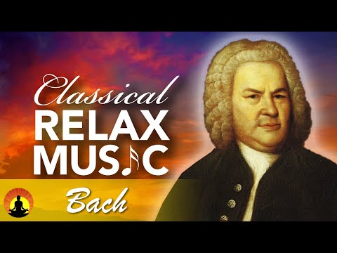 🔴 Relaxing Classical Music 24/7, Stress Relief Music, Instrumental Music, Bach, Relax, Sleep, Study